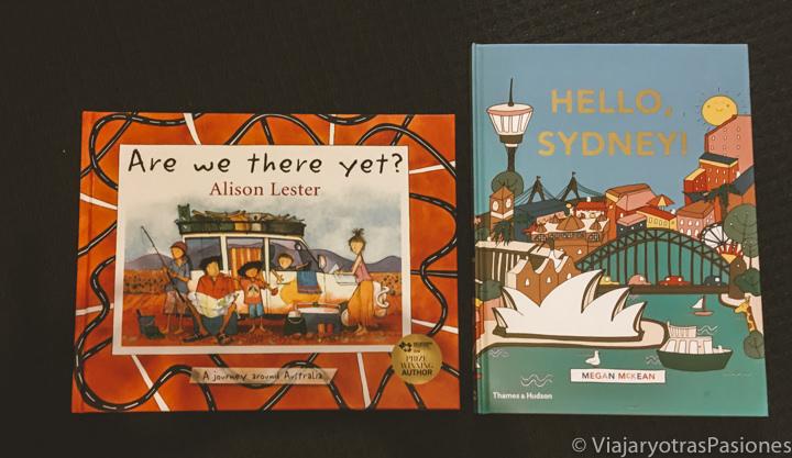 Portadas de Are we there yet? y Hello Sydney, bonitos libros para niños