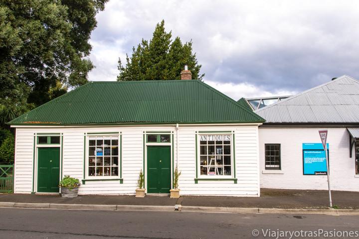 Bonitas casas del centro de Evendale en Tasmania
