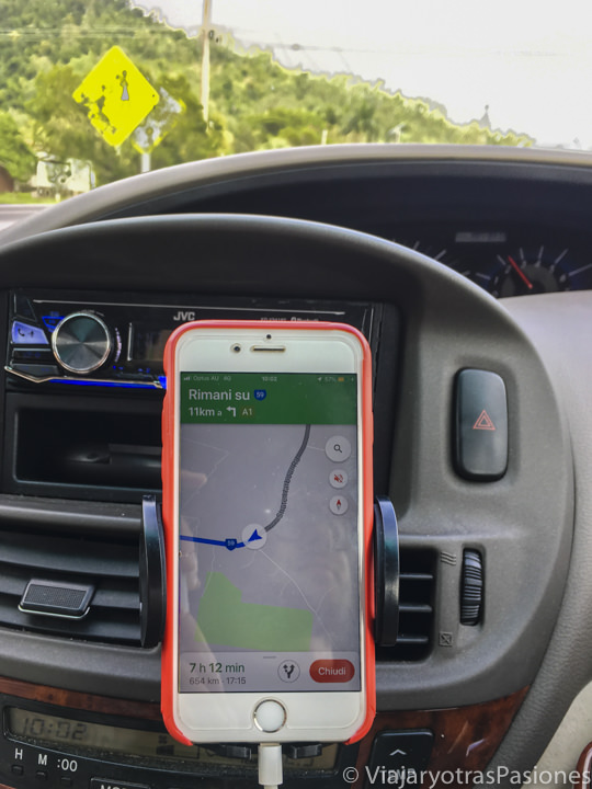 Imagen de Google Maps en conducir en Australia