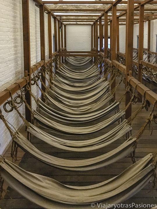 Interior del museo del Hyde Park Barracks en Sydney, Australia
