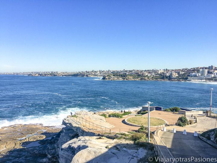 Vista desde el Ben Buckler Point en North Bondi en Sydney, Australia