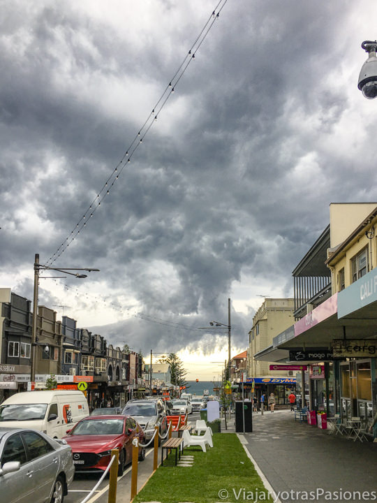 Espectacular temporal en Sydney