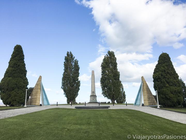 Espectacular vista del Cenotaph de Hobart, en Tasmania