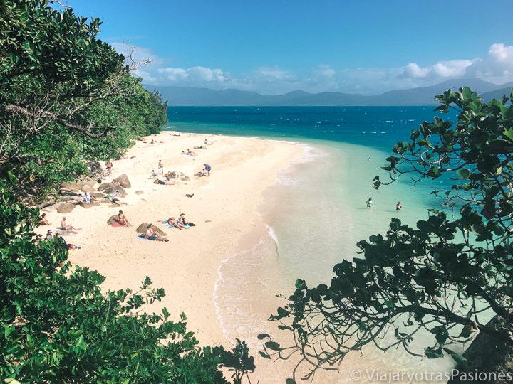 Espectacular imagen de una playa tropical en el norte de Australia