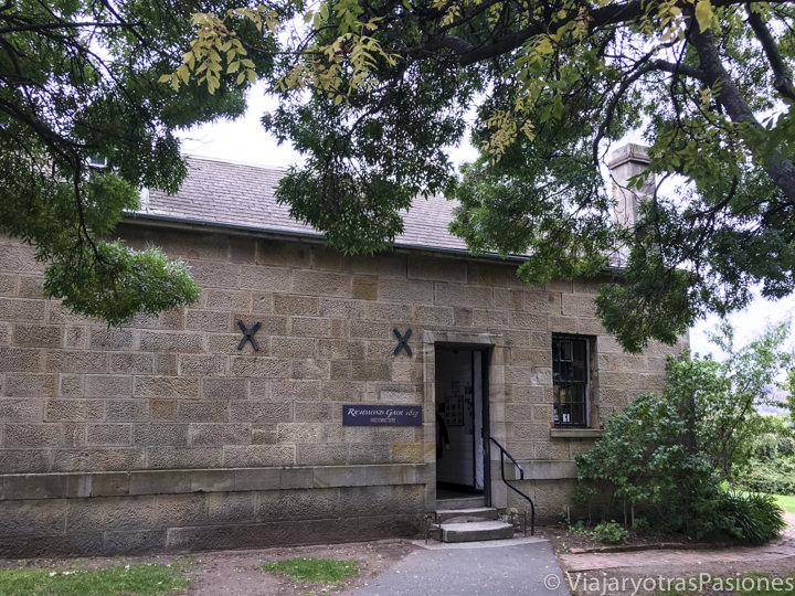 Entrada del Richmond Gaol en Tasmania
