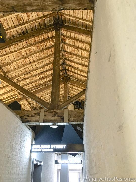 Antiguo techo de los Hyde Park Barracks en Sydney