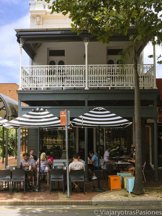 Terraza de un restaurante de Wollongong, Australia